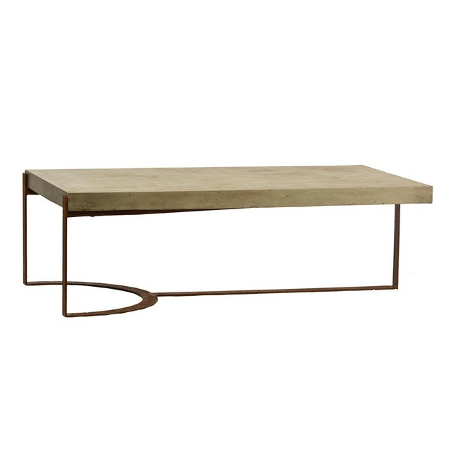 Industrial Industrial Modern Outdoor Coffee Table For Sale - Image 3 of 3