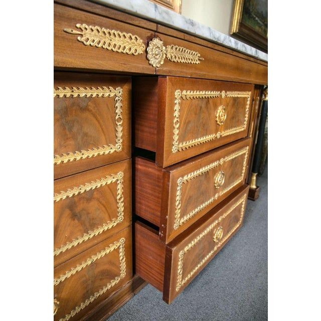 Palatial Empire-Style Sideboard For Sale - Image 4 of 11