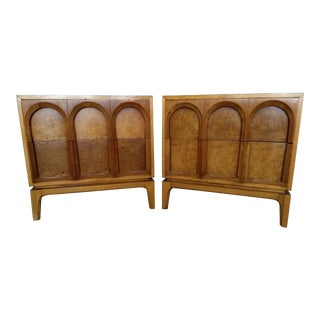 Thomasville Mid Century Nightstands - a Pair For Sale