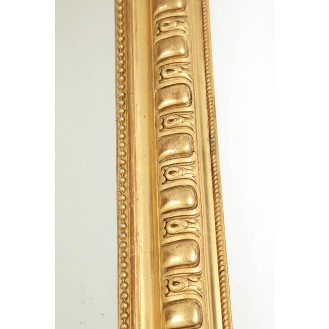 Mid 19th Century Giltwood Louis Philippe Mirror For Sale - Image 5 of 9