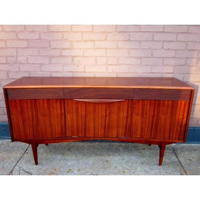 Vintage Danish Modern Rosewood Credenza For Sale - Image 13 of 13