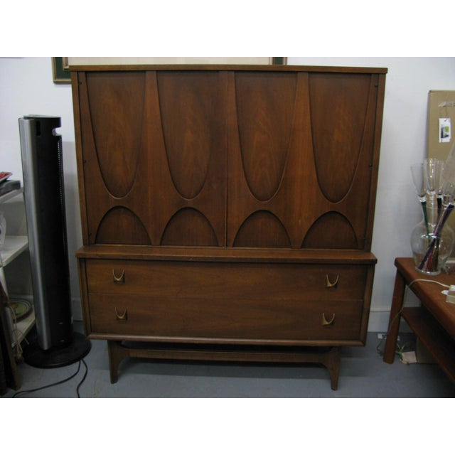 Broyhill Brasilia Highboy Dresser - Image 2 of 11