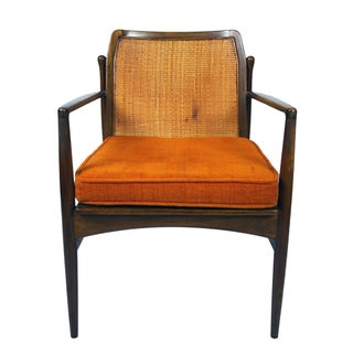 Mid Century Ib Kofod-Larsen for Selig Cane Back Armchair Preview