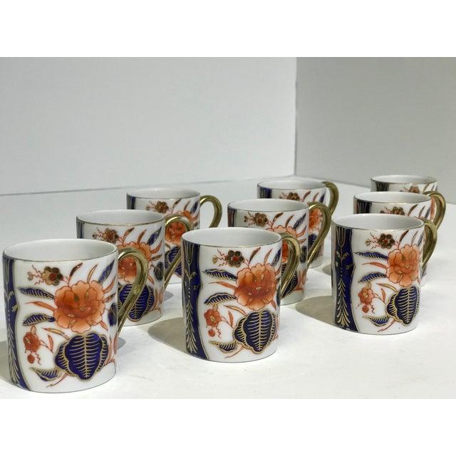 Traditional Espresso Set + Creamer For Sale - Image 3 of 13