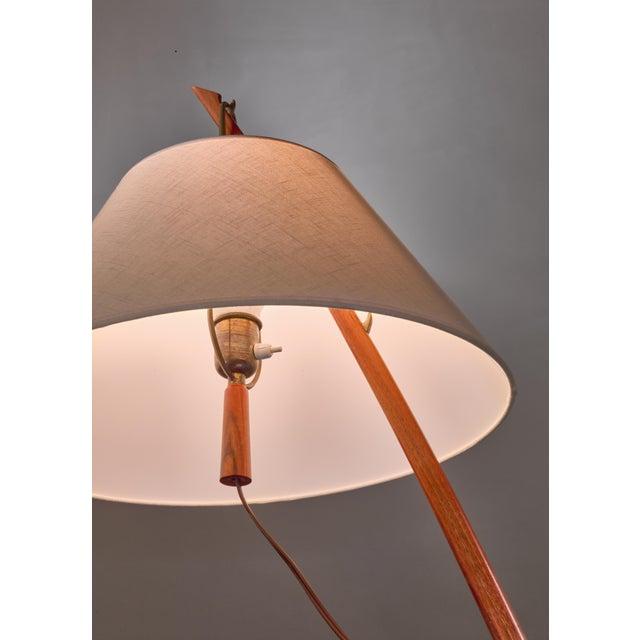 1940s Kalmar Dornstab Floor Lamp, Austria, 1940s For Sale - Image 5 of 6