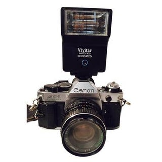 Vintage Ae-1 Programmable Canon Camera