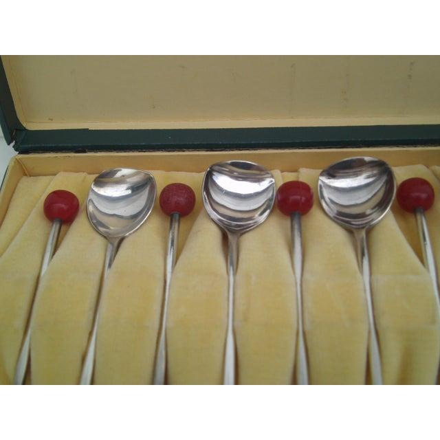 Deco Von Lengerke & Antoine Applesauce Spoons For Sale In Denver - Image 6 of 10