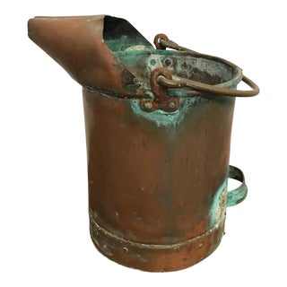Antique French Copper Pail