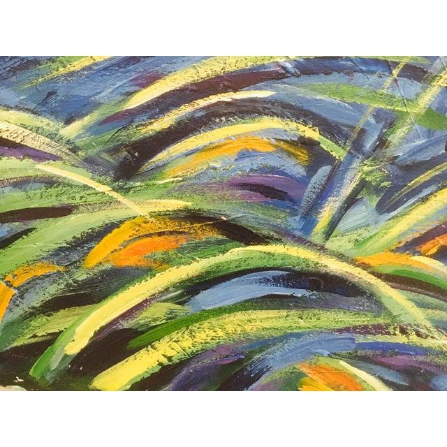 Original Expressionistic Impasto Painting - Image 4 of 8