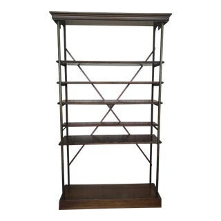 1940s Vintage Wood Etagere For Sale