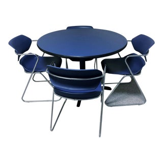 Mid-Century Modern Stacking Acton Dining Set