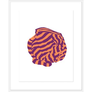 "Large ""Aubergine Knot 1"" Print by Angela Blehm, 35"" X 43"" For Sale"