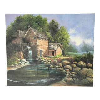 Lee Hirano Landscape Oil Painting