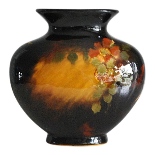 1900s Weller Pottery Aurelian Vase Chairish