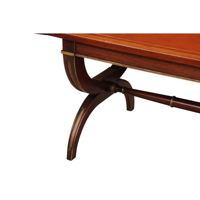 English Regency Style Drop-Leaf Coffee Table For Sale - Image 3 of 8