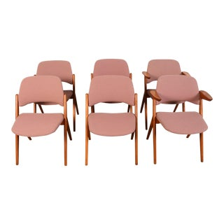 Bengt Ruda for Nordiska Kompaniets Triva Dining Chairs - Set of 6 For Sale