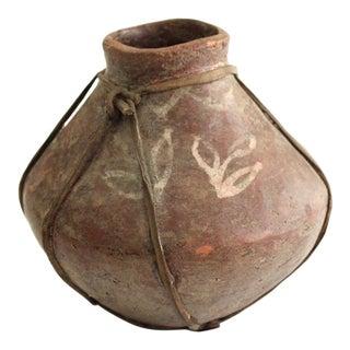 18th Century Tarahumara Terracotta Tesgüino Fermenting Pot For Sale