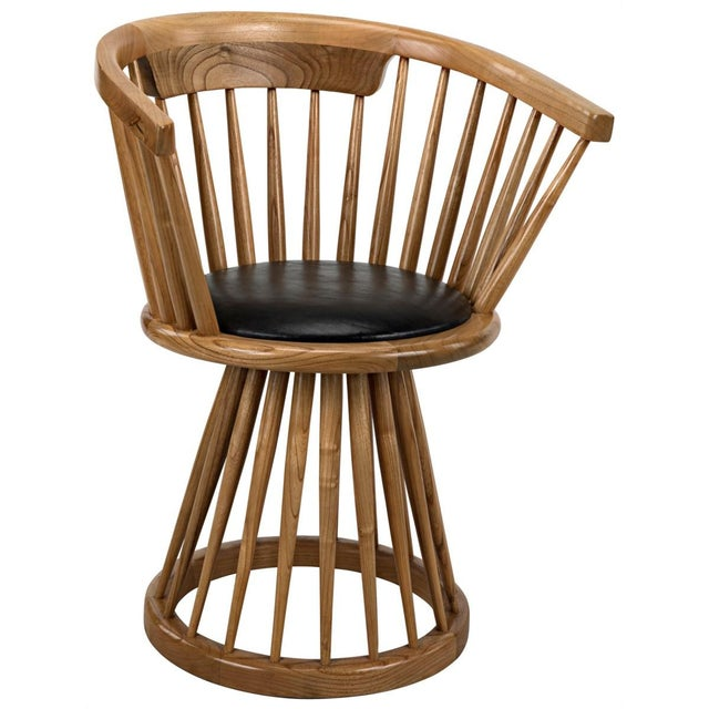 Mid-Century Modern Lauda Chair, Natural For Sale - Image 3 of 3