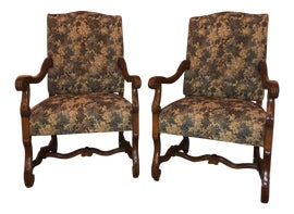 Image of Bronze Corner Chairs