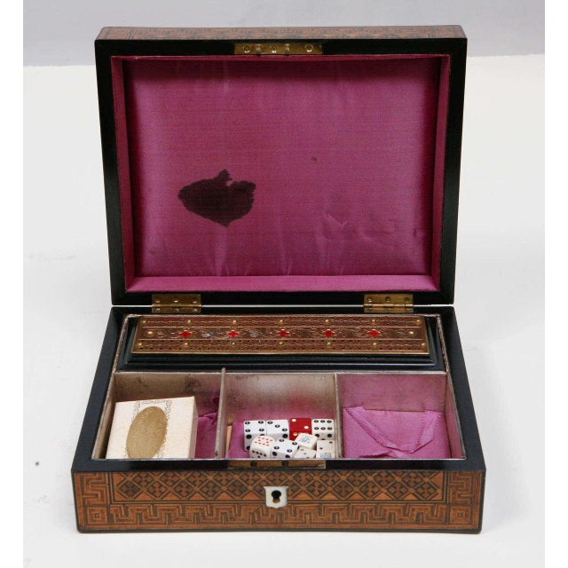 Late 19th Century 19th Century English Game Box For Sale - Image 5 of 11