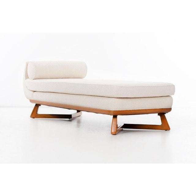 Wood Paul Laszlo Chaise For Sale - Image 7 of 9