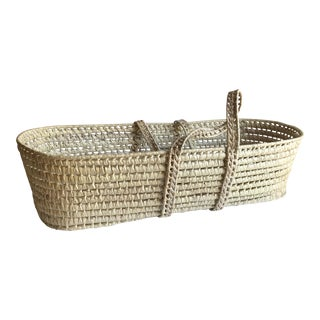 Handwoven Carrying Basket