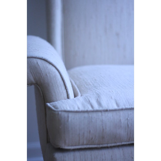 Italian Wingback Chair - Image 4 of 5