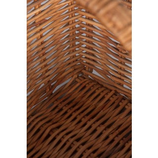 Vintage French Wicker Basket Preview