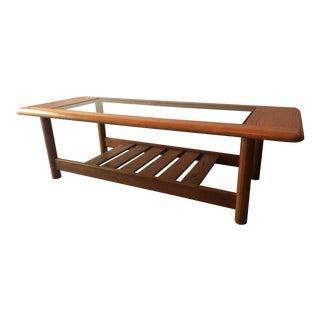 1960s Mid Century Modern Mersman Oak Coffee Table
