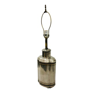Antique Dipped Table Lamp For Sale