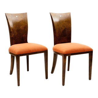 Coconut Shell Chairs - a Pair For Sale
