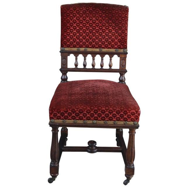 Renaissance Dining Chairs Antique French Renaissance Set 16 For Sale - Image 3 of 9