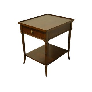 """Traditional Bernhardt Furniture Martha Stewart Signature Collection 20x24"""" End Table For Sale"""