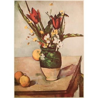 """Paul Cezanne, 1st Edition Lithograph """"Tulips and Apples"""" For Sale"""