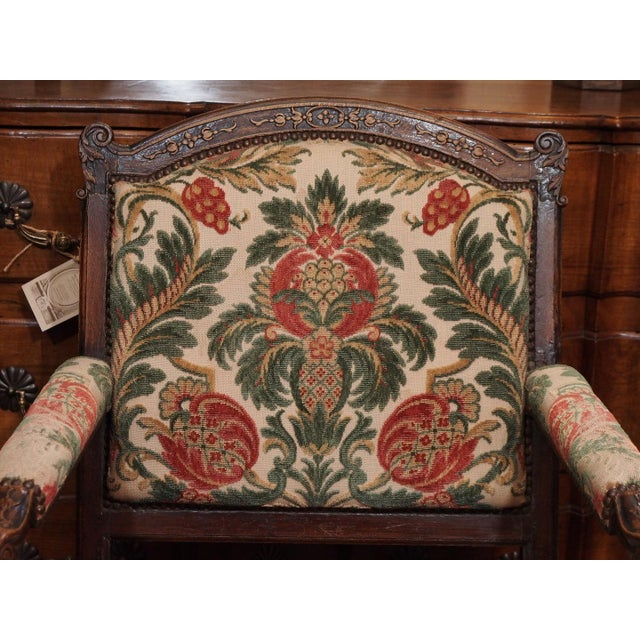 19th Century French Regence Style Fauteuil - Image 5 of 9