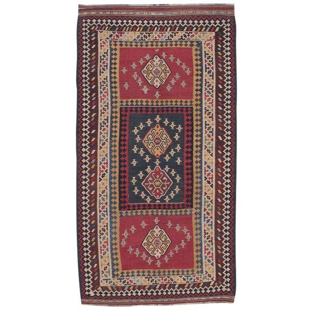 Antique Qashqai Kilim For Sale