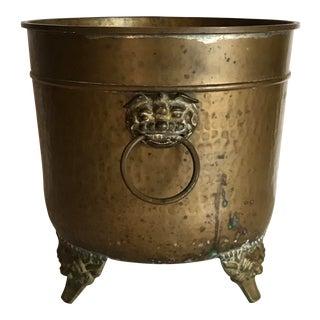 Brass Cachepot For Sale