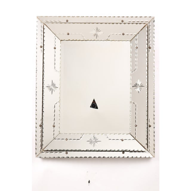 1950s Starburst Venetian-Style Mirror - Image 2 of 6