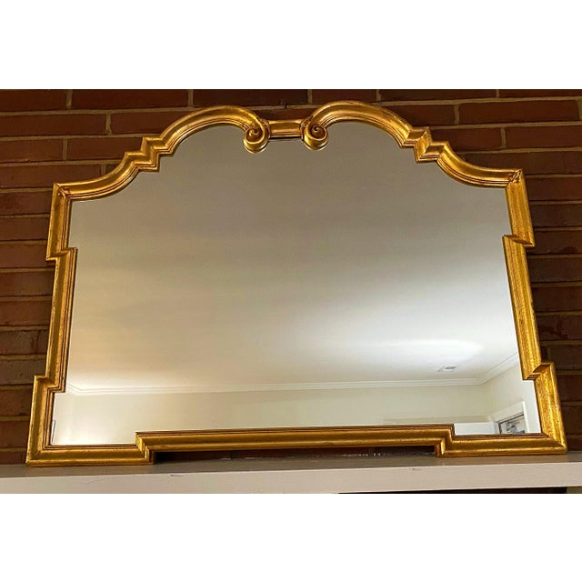 1930s 1930s Art Deco Large Wall Mirror For Sale - Image 5 of 5