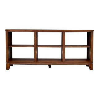 Ethan Allen Horizontal Bookcase For Sale
