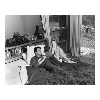 Rock Hudson at His North Hollywood Home 1952 For Sale
