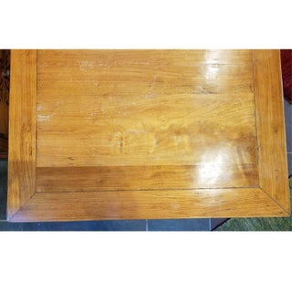 1910s Chinese Elm Square Low Table Preview
