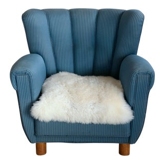 Danish 1940s Boesen and Lassen Style Lounge Chair For Sale