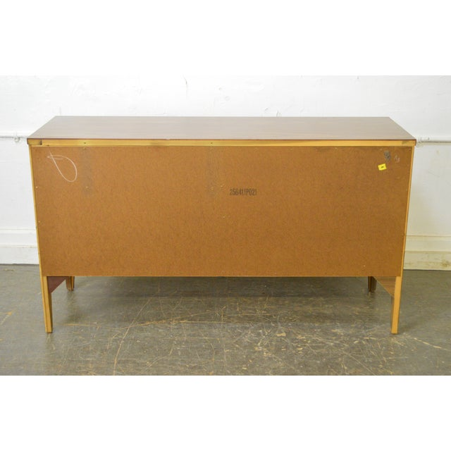 Johnson Carper Danish Modern Style Walnut Dresser - Image 7 of 11