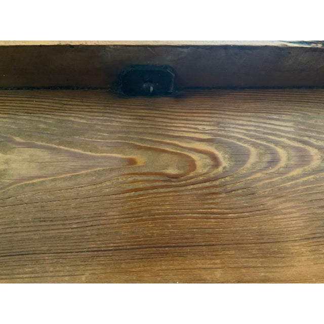 19th Century Rustic Pine Table / Sideboard For Sale - Image 12 of 13