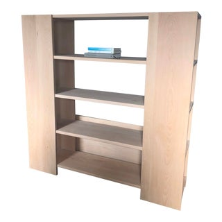 Donald Judd Style Beechwood Unfinished Book Shelf For Sale