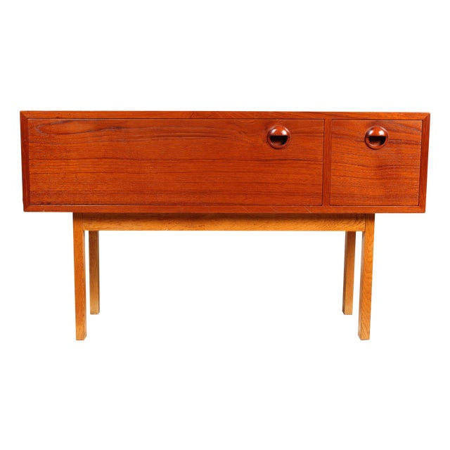 1960s Danish Modern Side Table - Image 1 of 5