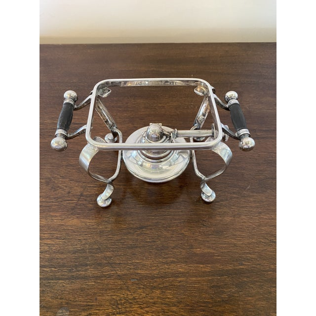 Antique English Silver Serving Warmer For Sale - Image 13 of 13