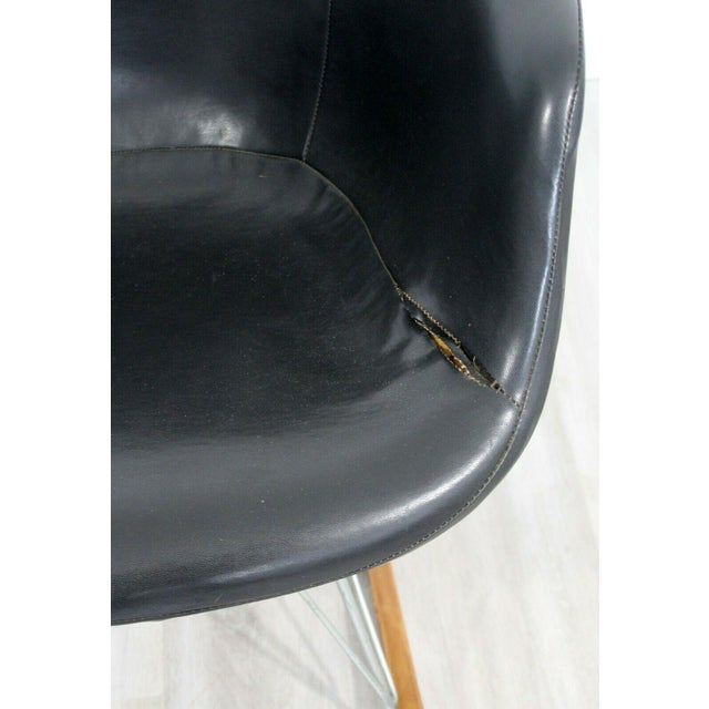 Charles Eames Mid Century Modern Early Charles Eames Eiffel Tower Rocker Rocking Chair 1950s For Sale - Image 4 of 7