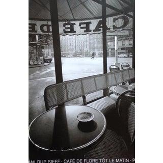 Jeanloup Sieff Café de Flore Poster
